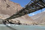 Brücke über den Bartang in Basid